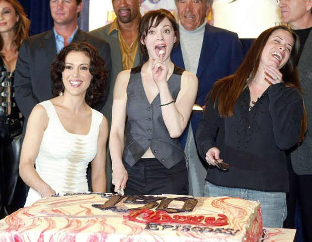 The WB's 'Charmed' 150th Episode Cake Cutting