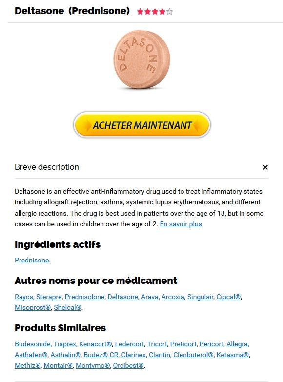 Deltasone Livraison Rapide | Meilleure offre sur les médicaments génériques