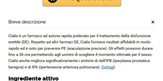 Cialis Generico A Buon Mercato Per La Vendita | Farmacia Pesaro