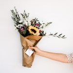 Person Holding Bouquet Of Flowers Photo Free Flower Image On Unsplash