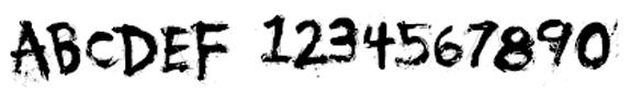 You Murderer Halloween Font