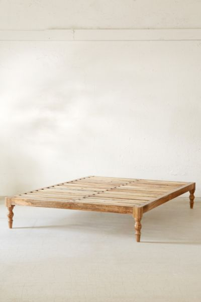 Bohemian Platform Bed   Urban Outfitters on Modern Boho Bed Frame  id=15547