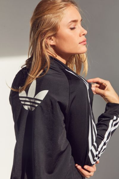 aeacd8d8c768 Adidas Originals Supergirl Track Jacket Urban Outfitters