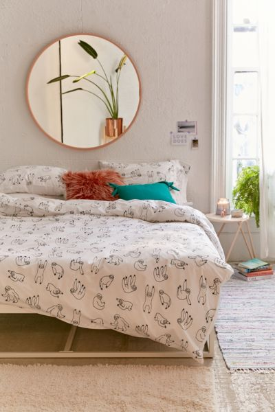 Sloth Duvet Cover Urban Outfitters