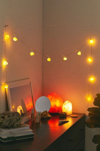 String Lights   Party Lights   Urban Outfitters Rock Salt String Lights