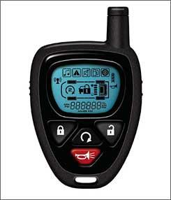 GM's LCD Key Fob