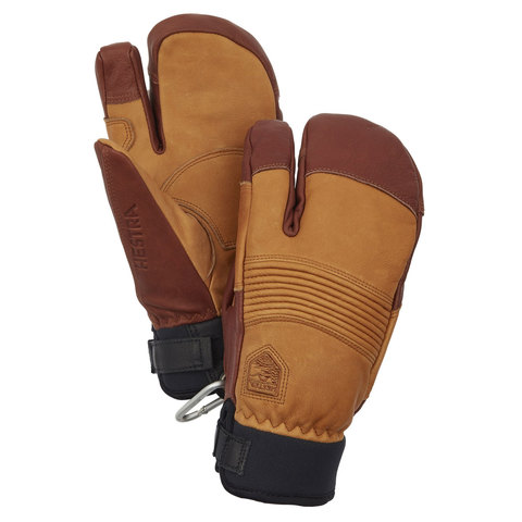 Hestra Freeride CZone 3 Finger Cork/brown 10