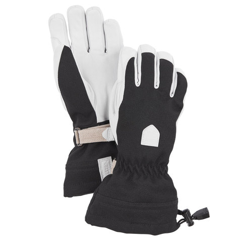 Hestra Patrol Gauntlet Gloves - Women's Black 8