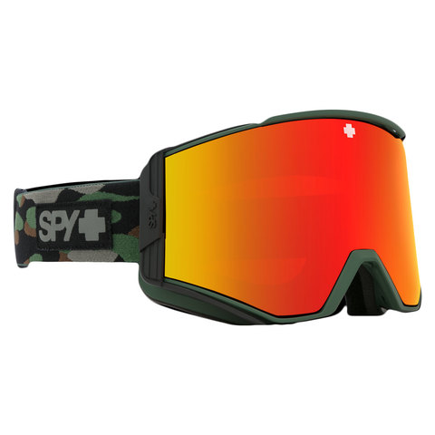 Spy Ace Snow Goggle Camo/red W/yellow
