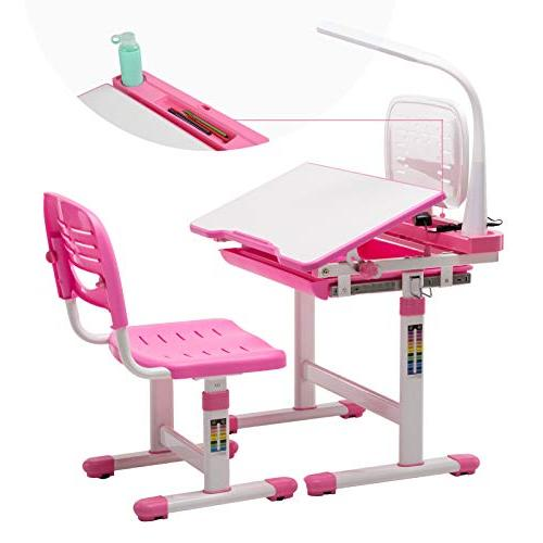 Mecor Kids Desk And Chair Set Height Adjustable