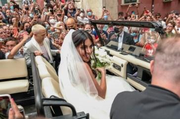 Federico Bernadeschi e Veronica Ciardi, dopo le nozze è in arrivo il terzo figlio
