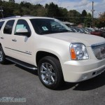 2012 Gmc Yukon Denali Awd In White Diamond Tricoat 101847 Vannsuv Com Vans And Suvs For Sale In The Us