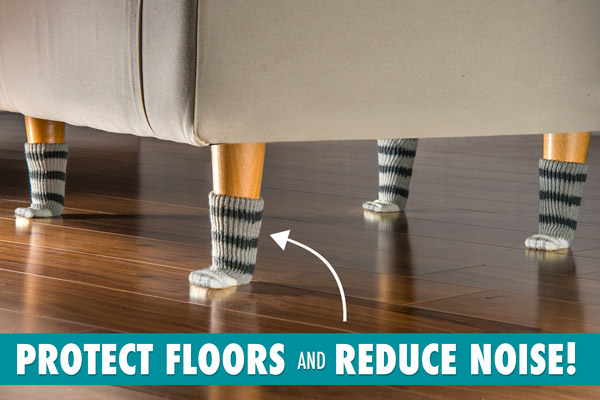 Protect floors and reduce noise!
