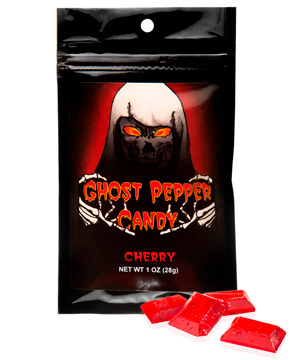 Ghost Pepper Hard Candies: Fruity and fiery hard candies.