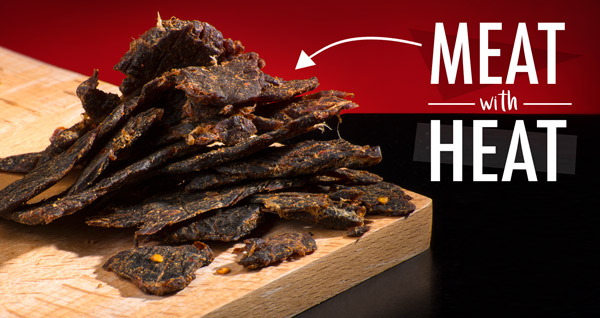 Ghost Pepper Beef Jerky: Beef jerky infused with ghost ...