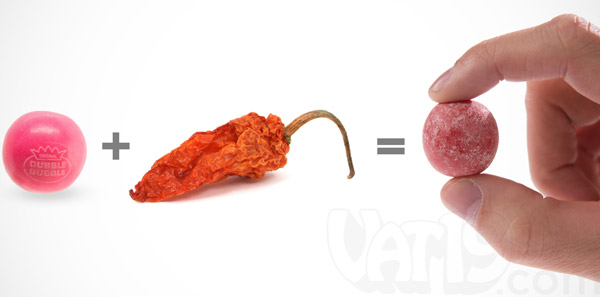 Ghost Pepper Gumballs: Pack of 25 bold cinnamon and spice ...