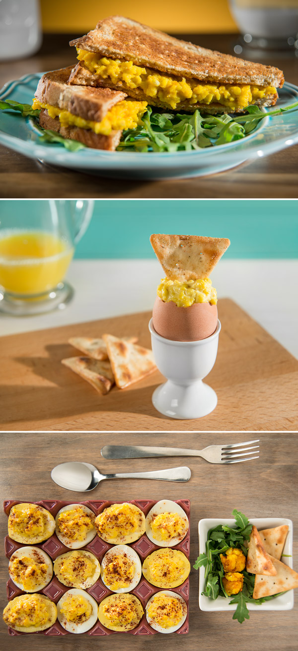 Deviled Golden Eggs A Egg Sandwich And Soft Boiled Ready To