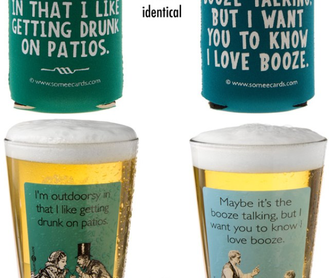 Our Irreverent Beer Pints And Koozies Are Available In Several Different Varieties