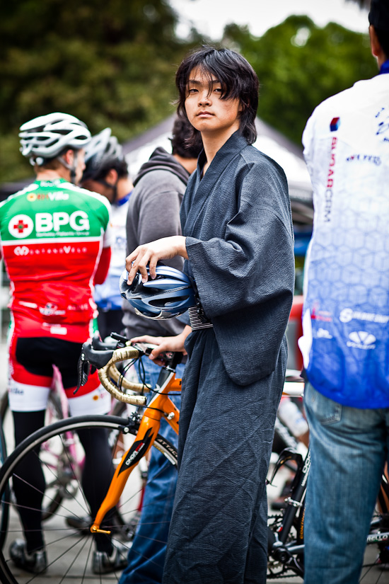 Italian Bike, Japanese Robe