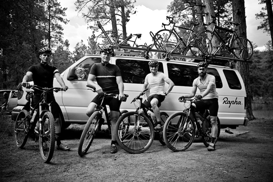 The posse set to hit the trails outside Flagstaff