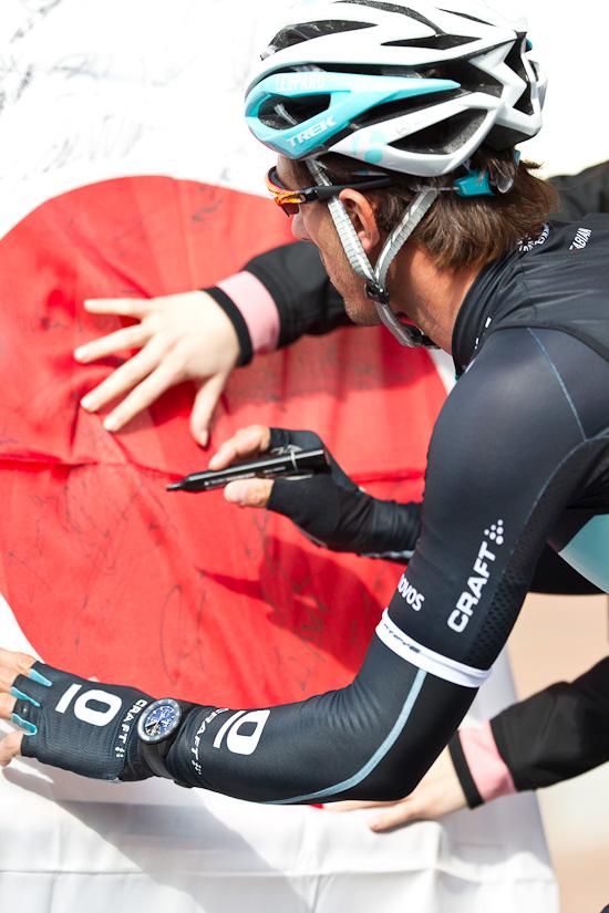 Cancellara signs for Japan