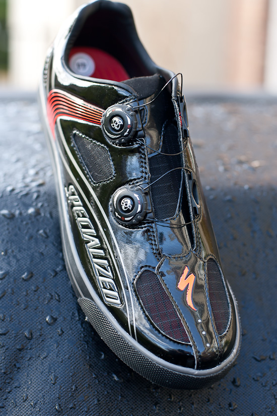 Specialized produced shoes for the S-Works McLaren Venge