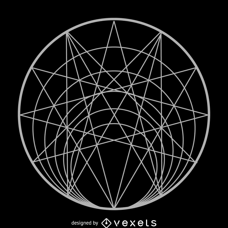 Complex Circle Sacred Geometry