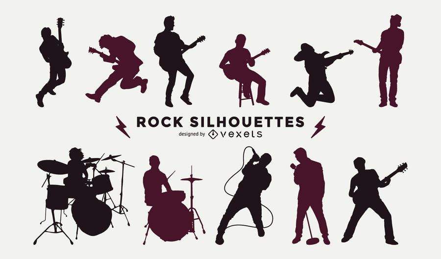 Musicians Silhouette Collection