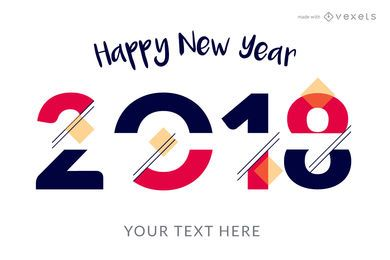 happy new year poster maker