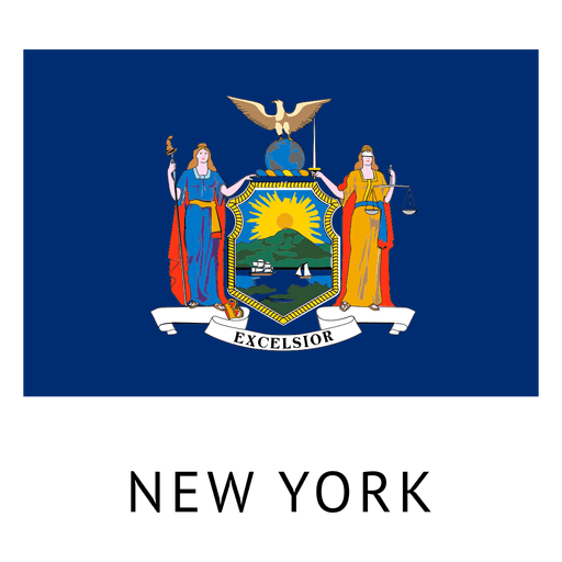 New york's official flag was adopted in 1901. New york state flag - Transparent PNG & SVG vector file