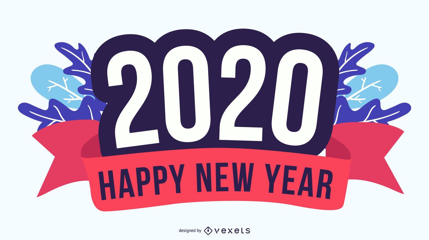Feliz Ano Novo Distintivo