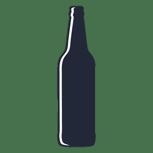 Download Beer bottle long silhouette - Transparent PNG & SVG vector ...