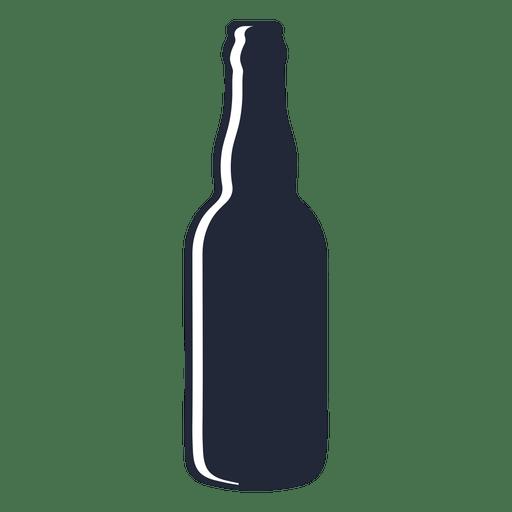 Download Long neck beer bottle silhouette - Transparent PNG & SVG ...
