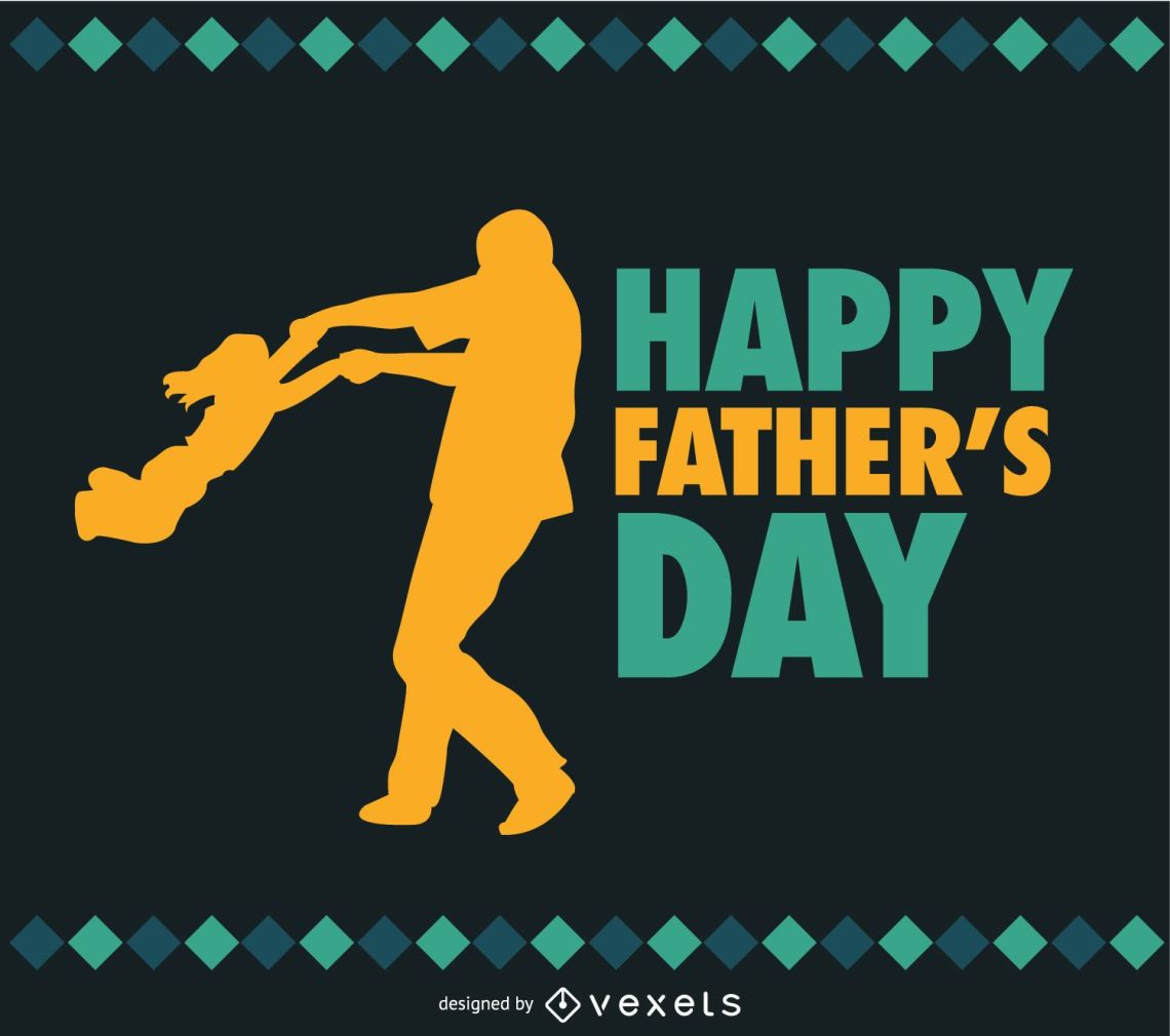 Download Father And Daughter Father's Day Vector - Vector Download