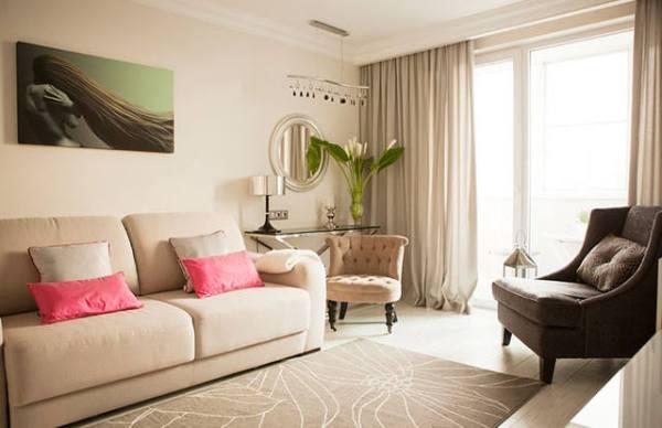 Помогите в планировке гостинойкухни с эркером и колоннами