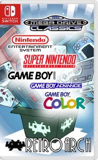 25762437 - Retroarch :Sega Genesis (MegaDrive 2), Nintendo NES, SNES, GB, GBA + covers (6946 games) Switch NSP