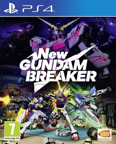 New Gundam Breaker PS4 PKG