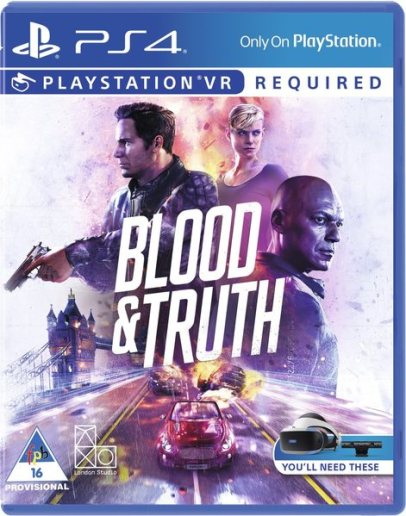 Blood and truth PS4 PKG