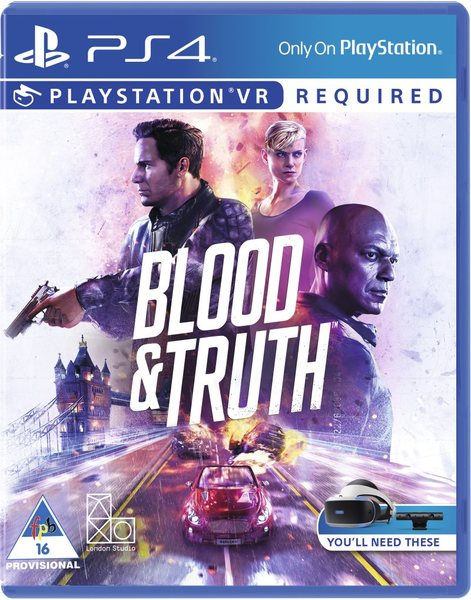 Blood & truth PS4 PKG