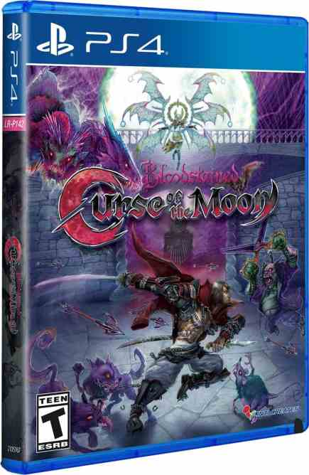 Bloodstained Curse of the Moon PS4 PKG