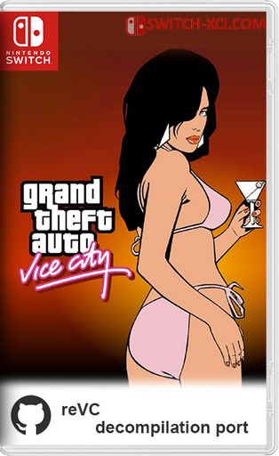 Grand Theft Auto: Vice City Switch NSP