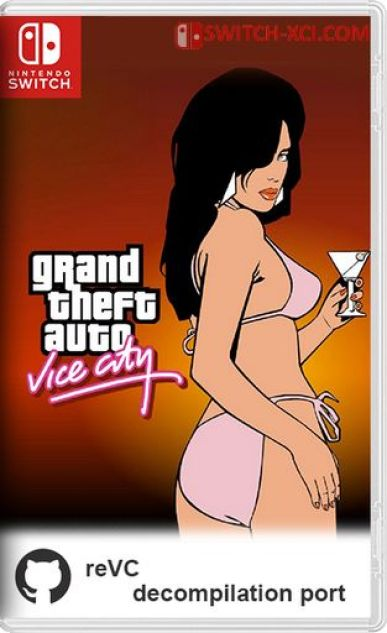 Grand Theft Auto Vice City Switch NSP