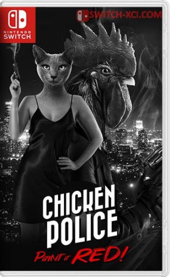 Chicken Police – Paint it RED Switch NSP XCI NSZ