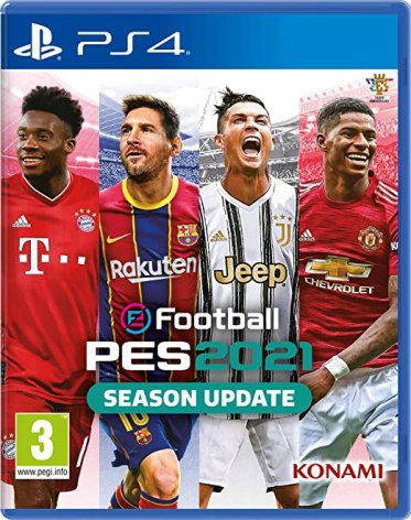 eFootball PES 2021 SEASON UPDATE PS4 PKG