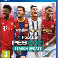 eFootball PES 2021 SEASON UPDATE PS4 PKG