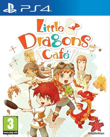 Little Dragons Café PS4 PKG