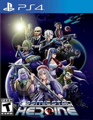 Cosmic Star Heroine PS4 PKG