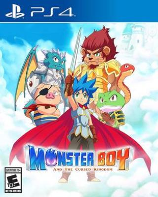 Monster Boy and the Cursed Kingdom PS4 PKG
