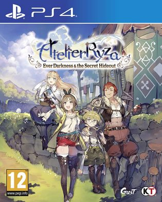 Atelier Ryza Ever Darkness and the Secret Hideout PS4 PKG