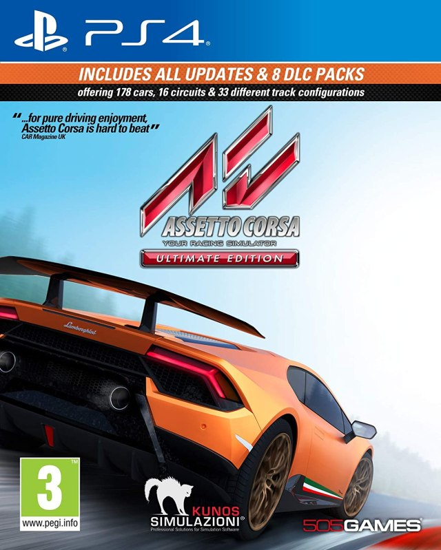 Assetto Corsa Ultimate Edition PS4 PKG